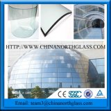 Portello di vetro del garage isolato portello di vetro