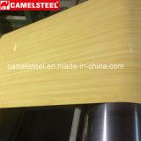 Bobinas de madera del acero de CGCC PPGI