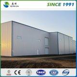Estructura de acero prefabricada de construcción con diseño perfecto