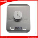Escala Escala digital de cocina de acero inoxidable Plataforma de 5000g / 1g eléctrico Alimentación