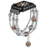 Appleの腕時計のための女性の瑪瑙の伸張のブレスレットバンド