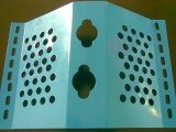 معدنية مثقوبة الرياح أو الغبار نتس / الغبار شاش الشاشة / الغبار