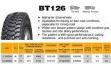 OTR, fuera de la carretera de neumáticos, neumáticos radiales Bt126 11.00r20