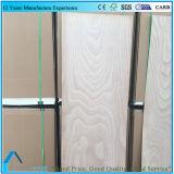 Madera contrachapada de lujo de Okume del panel decorativo para la piel de la puerta