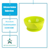 Produits personnalisés à base de produits alimentaires à base de silicone Ensembles à vaisselle en soie