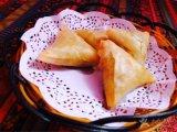 Samosa végétal fabriqué à la main frais 12.5g * cadres de /Carton de 96 parties