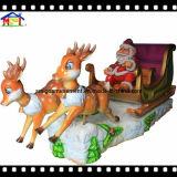 Noël Kiddie Ride Santa's Sled Holiday Fun Jeux pour enfants
