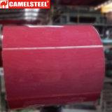 Le modèle de marbre PPGI a enduit la bobine d'une première couche de peinture en acier galvanisée