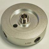 Zoll-Polnischrostfreies/Stahl-/Aluminiumteil maschinell bearbeitete Ersatz-CNC-maschinell bearbeitenAutoteil-
