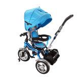 T3 do bebê do tipo de Tianshun bom em 1 triciclo com dossel