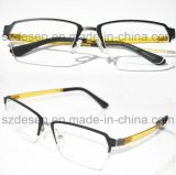 Venda Por Atacado Lightweight Semi-Rimless Aluminum Eye Glasses Frames