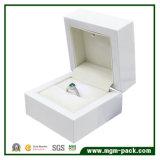 Горячая коробка ювелирных изделий твердой древесины СИД сбывания
