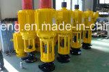 Dispositivo de conducción de tierra vertical de la transmisión de la bomba de tornillo del petróleo