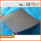 Enclavamiento de PVC impermeable Garaje suelos de baldosas de vinilo
