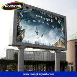 Im Freien hohe Helligkeit P10 farbenreiche LED Bildschirm-Bildschirmanzeige bekanntmachend