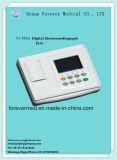 3 машина каналов ECG с экраном касания