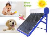 Calentador de energía solar no presurizado/de la presión del sistema solar de la calefacción por agua del colector de agua