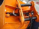 Cubeta de lama da inclinação da cubeta da massa da inclinação da máquina escavadora para a máquina escavadora