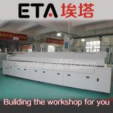 Производственная линия печь SMT Reflow и машина выбора и места