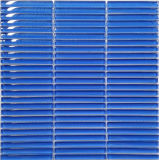 진한 파란색 지구 유리제 모자이크 타일 (PT56)