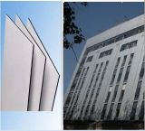 은 회색 건물 물자 폴리에스테 코팅 벽 훈장 알루미늄 합성 위원회