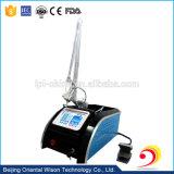 Portable cicatrice fractionnelle de laser CO2 de la dépose de la machine pour le salon