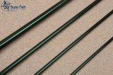 Дешевый оптовый пробел рыболовной удочки мухы зеленого цвета углерода Кореи