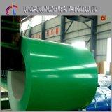 Bobina de aço verde da cor PPGI para o uso da telhadura