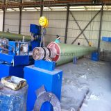 Tubo de plástico reforzado con fibra de la máquina de bobinado de filamento Tubo GRP produciendo molde