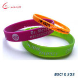 Costume impresso silicone do Wristband