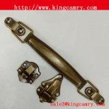 Maniglia di tiro del contenitore di legno di maniglia/monili del cassetto del contenitore di legno di maniglia della lega del metallo
