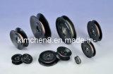 Plastik flanschte keramische Riemenscheibe mit Außendurchmesser 55mm der Peilung-Welle-(HCR005)