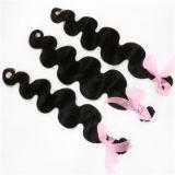 Capelli umani di Remy dell'onda del corpo dei capelli del Virgin del Malaysian di prezzi di fabbrica 100%