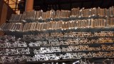 Marcos de aluminio recubierto de polvo de la estructura del edificio