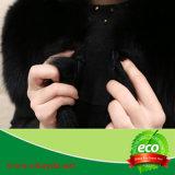 Le luxe de l'hiver chaud véritable peau de renard vêtement fabriqué en Chine