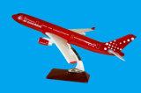 樹脂の平らなモデルによってカスタマイズされるモデル平らなQuantas A330の飛行機モデル