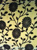 Tissu 100% nylon pour troupeau pour meubles Tissu à double flocage (F002)