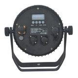 IP65 XLR Waterproof a luz da lavagem do diodo emissor de luz do estágio ao ar livre com conetor de DMX