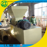 Papel industrial del uso y fábrica plástica de la desfibradora de la basura para la venta