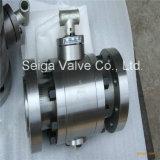 API de alta temperatura y alta presión de la válvula de bolas de acero forjado