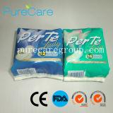 Coton jetable serviette hygiénique (IC319)