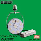 Qualidade elevada E40 100 Watts rua LED de luz com intensidade de luz regulável