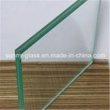 uso Tempered claro del vidrio laminado de 6.38m m para el Buliding