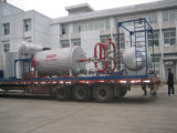 Petróleo horizontal do estilo (gás) - fornalha de petróleo despedida de Themal (YQW)