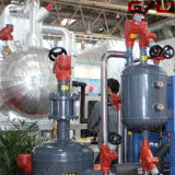 산업 냉각에 수동 제어 벨브 사용