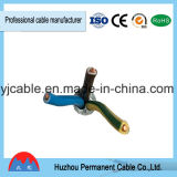 BV/BVV Funda de PVC Conductor de aluminio de alambre de cobre eléctrico