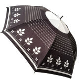 Custom Design 23 polegadas barato promocional manual Open Straight Umbrella