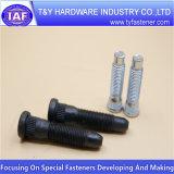 Tornillos hexagonales de la ISO 4014 del acero de carbón (estruendo 933 /931)