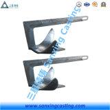 Form-Kohlenstoffstahl Hhp Typ Marinelieferungs-Deltaflipper-Anker