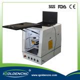 Машина маркировки лазера волокна машины маркировки лазера CNC